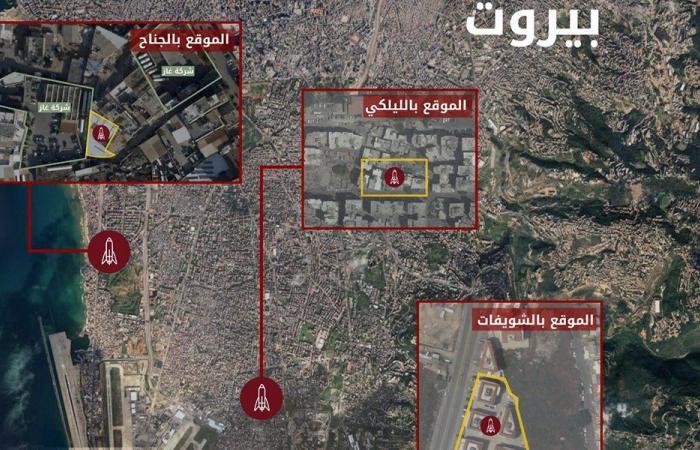 """إسرائيل تكشف عن مواقع لـ""""الحزب"""" في مناطق سكنية (فيديو وصور)"""