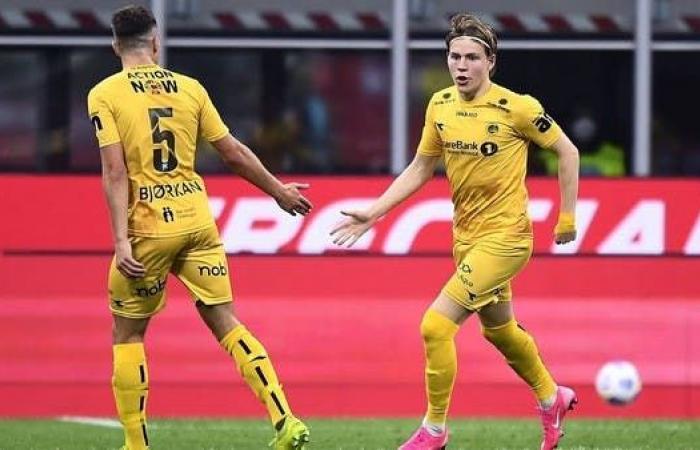 ميلان يتعاقد مع الشاب النرويجي هوغ
