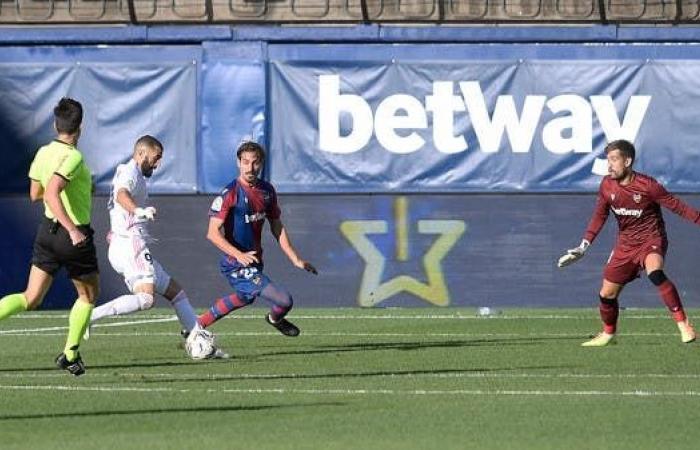 ريال مدريد يهزم ليفانتي ويخطف الصدارة