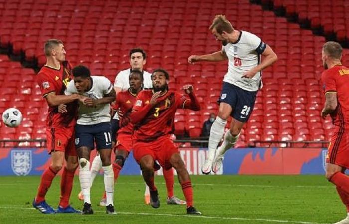 إنجلترا تهزم بلجيكا وتتصدر المجموعة الثانية