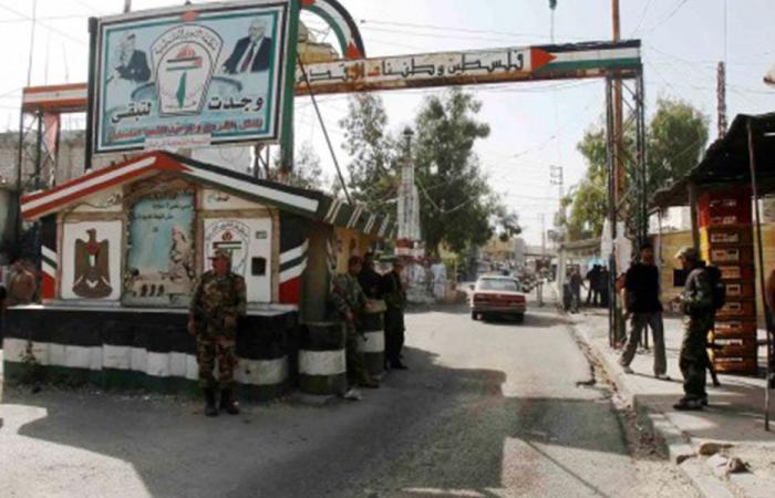 تشييع فلسطيني قضى بإشكال عين الحلوة