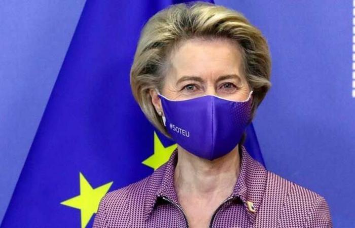 """""""كورونا"""" يجبر رئيسة المفوضية الأوروبية مغادرة القمة"""