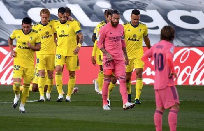 قادش يصدم ريال مدريد ويخطف 3 نقاط ثمينة