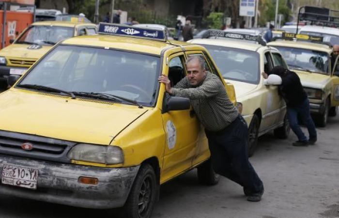 نقص البنزين يرفع أجور النقل في سورية