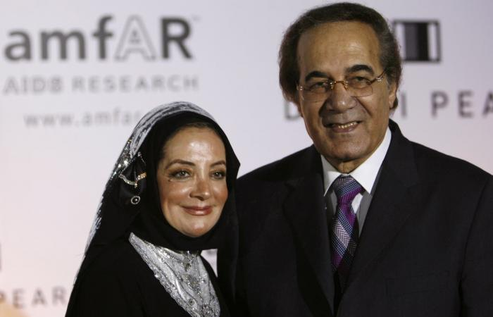 """""""إنه الحب"""".. رسالة وداع مؤثرة من شهيرة لزوجها محمود ياسين"""