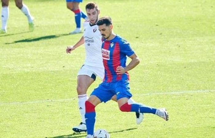 إيبار وأوساسونا يتعادلان سلبياً في الدوري الإسباني