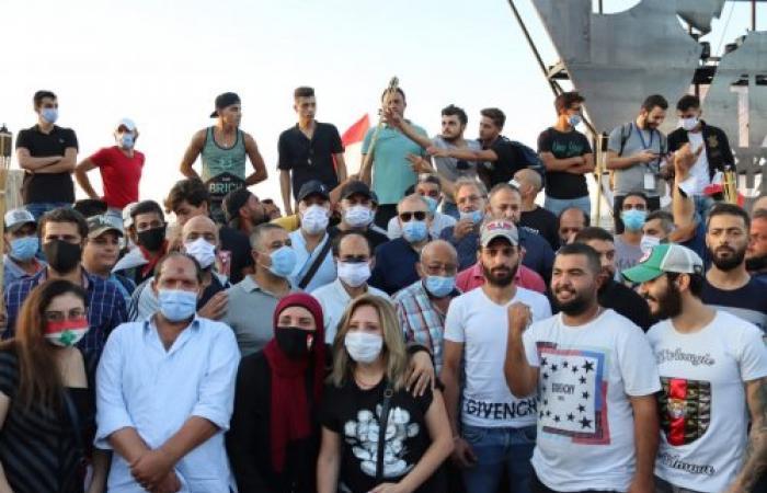 """مشاركة فاعلة """"لـ""""المنتديات"""" في مسيرة 17 تشرين"""