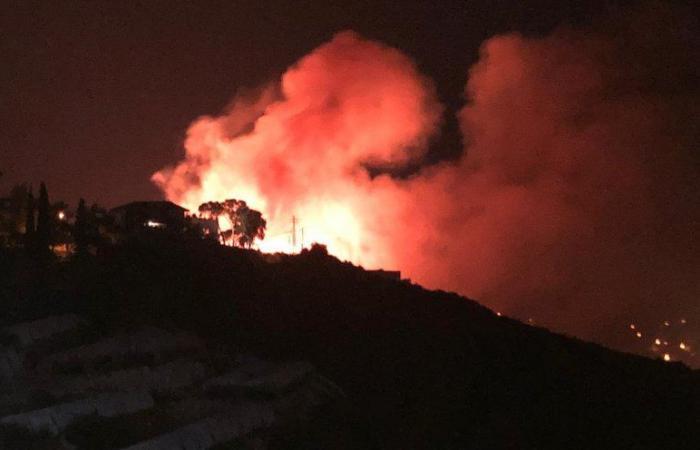 حريق كبير في جبيل ومناشدة من الأهالي (صور وفيديو)