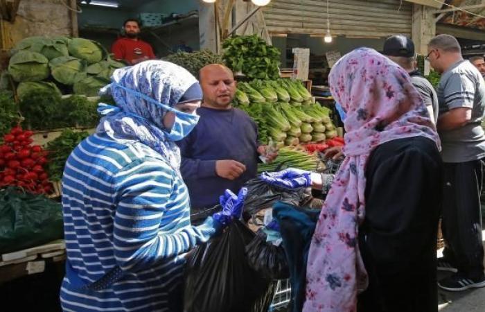 100% ارتفاع أسعار الخضر في الأردن بسبب الحظر الشامل