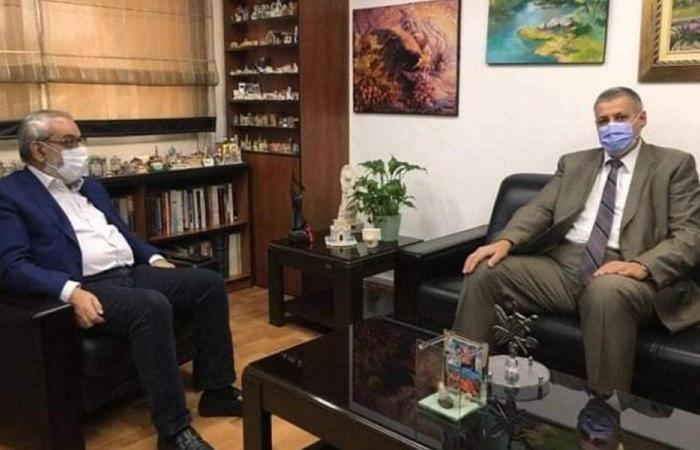 """""""المستجدات على الساحة اللبنانية"""" بين بقرادونيان وكوبيتش"""