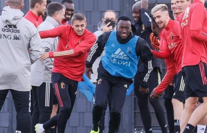 حظر التجول يجبر منتخب بلجيكا على تغيير مقر المباريات