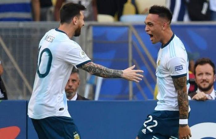 لاوتارو أمل ميسي في المنتخب الأرجنتيني