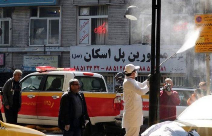479 وفاة و13260 إصابة جديدة في ايران