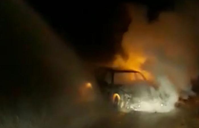 حريق أشجار في مشمش العكارية… والسبب اشتعال سيارة!