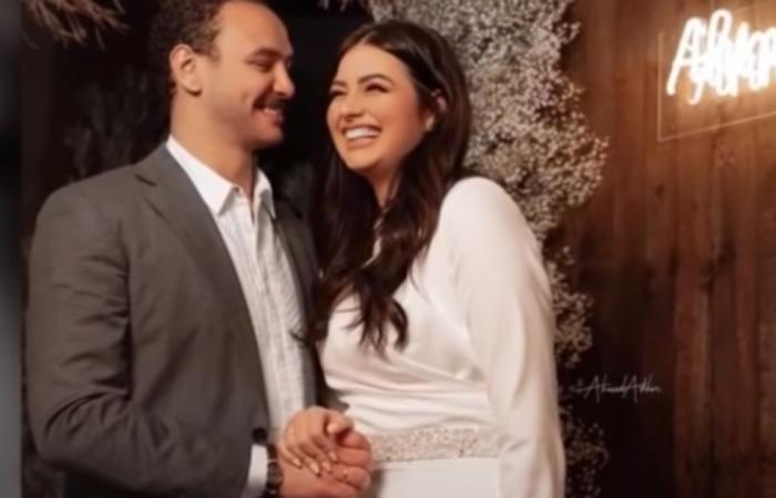 بصورة رومانسية لهما من شهر العسل.. هنادي مهنا تحتفل بعيد ميلاد زوجها أحمد صالح