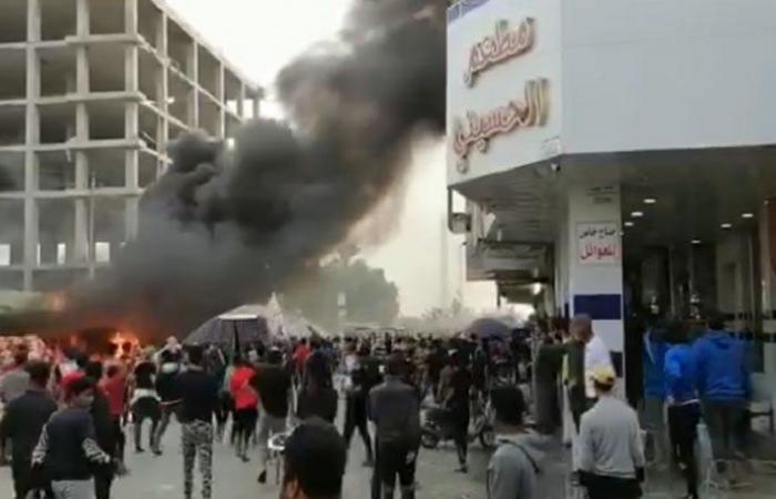 قتيل وجرحى بمواجهات في العراق