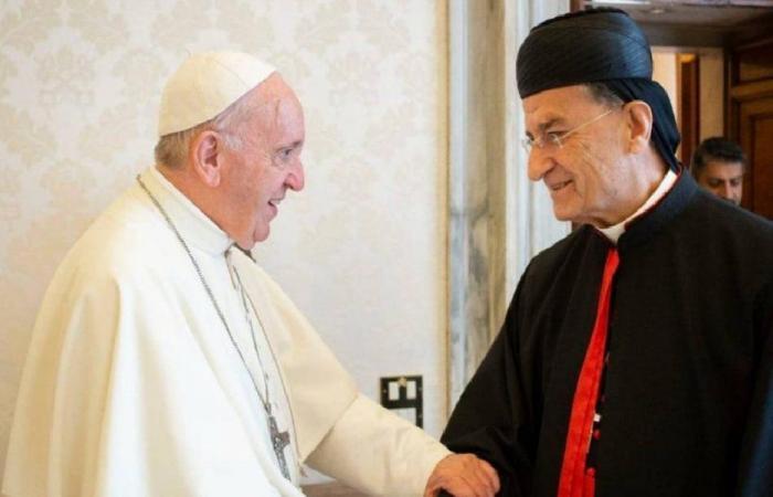 البابا تسلّم من الراعي تقريرًا عن وضع لبنان: أصلّي باستمرار لأجله