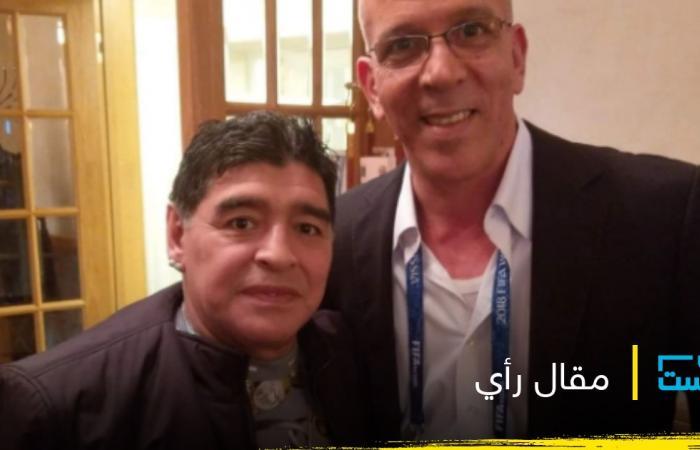 حفيظ دراجي يكتب: قصتي مع دييغو مارادونا