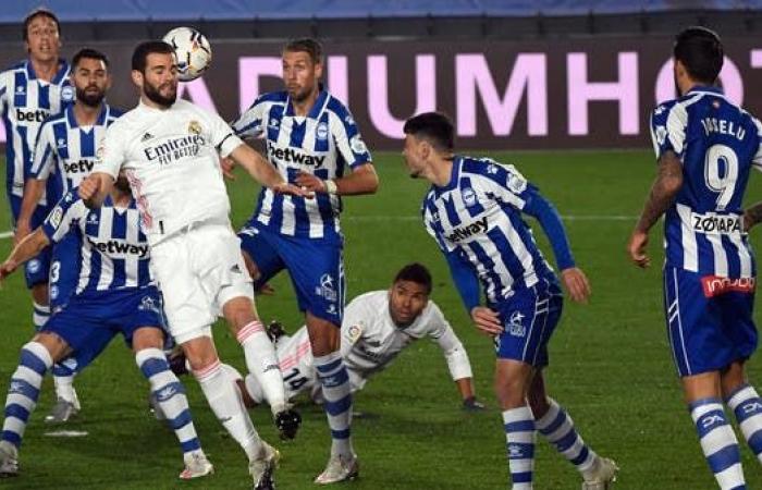 ألافيس يوجه لطمة جديدة إلى ريال مدريد ويهزمه في عقر داره