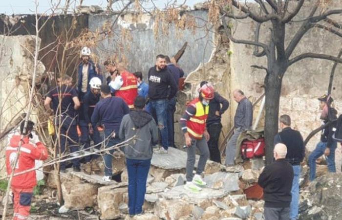 انهيار حائط غرفة على عامل فلسطيني في صيدا