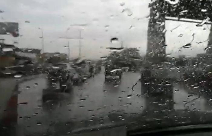 امطارٌ وعواصف رعدية