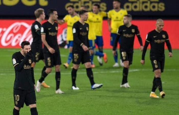 قادش يصدم برشلونة ويخطف ثلاث نقاط ثمينة