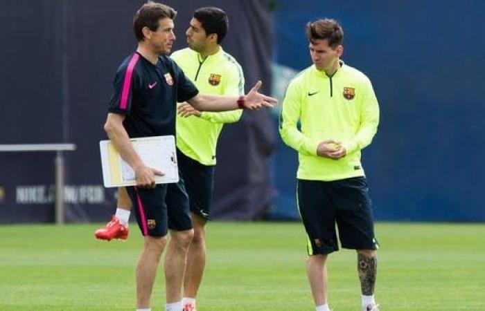مساعد مدرب برشلونة السابق: بعض اللاعبين لا يتحملون اللعب بجوار ميسي
