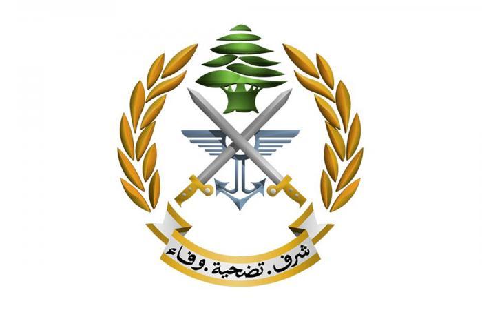 دعوة من قيادة الجيش إلى ذوي شهداء انفجار مرفأ بيروت