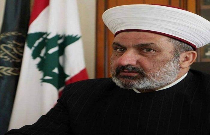 المفتي الصلح: الادعاء على دياب استهداف سياسي مشبوه