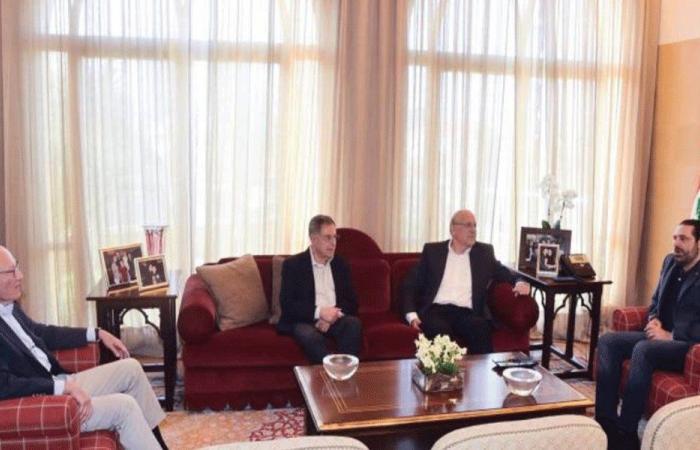 رؤساء الحكومات السابقين خلف دياب