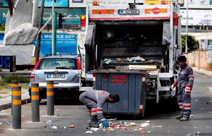 في الزلقا… انفجار صندوق شاحنة لجمع النفايات