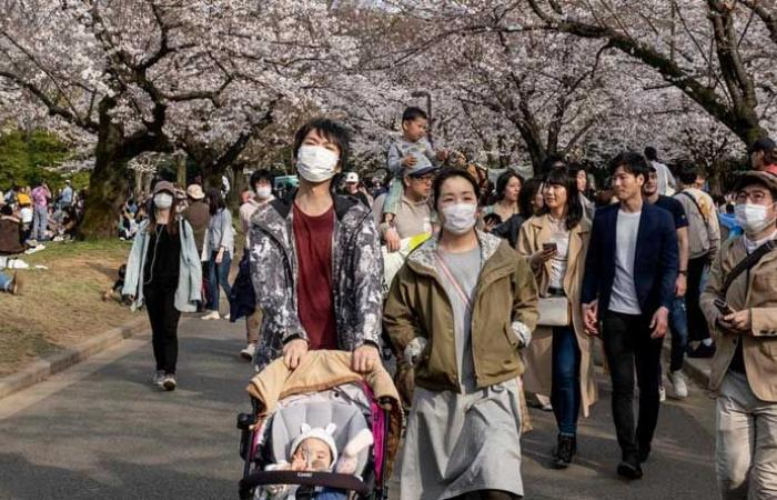 أعلى حصيلة إصابات يومية بكورونا في اليابان