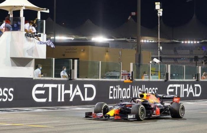 فيرستابن يفوز بسباق جائزة أبوظبي الكبرى