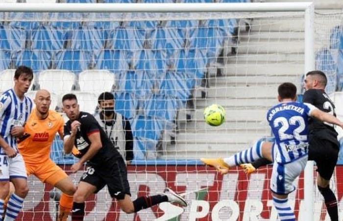 سوسييداد يهدر فرصة الانفراد بصدارة الدوري الإسباني