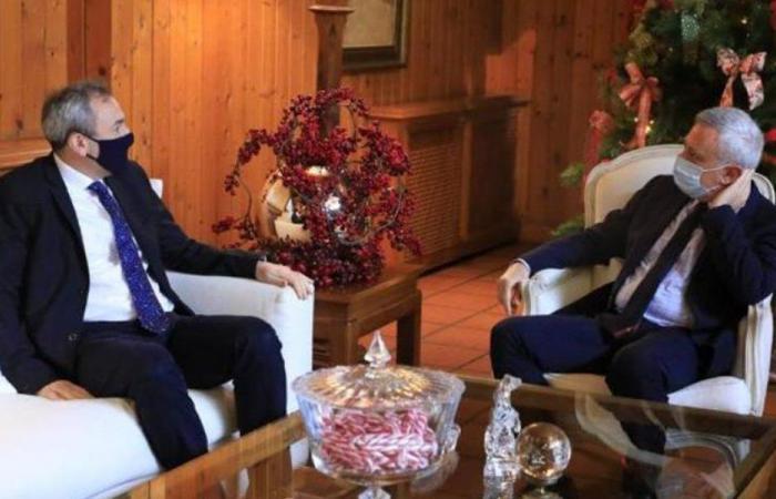 فرنجية استقبل رامبلنغ في زيارة وداعية