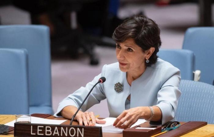 مدللي: مبروك للبنان الفوز بانتخابات لجنة بناء السلام