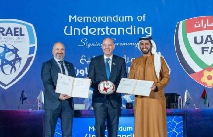 الاتحاد الإماراتي يوقع اتفاقية تفاهم مع نظيره الإسرائيلي