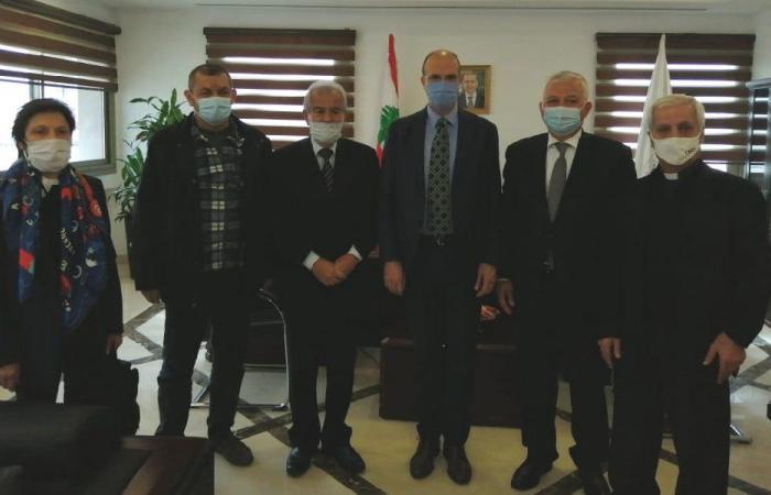 وزير الصحة التقى اتحاد صناديق التعاضد الصحية