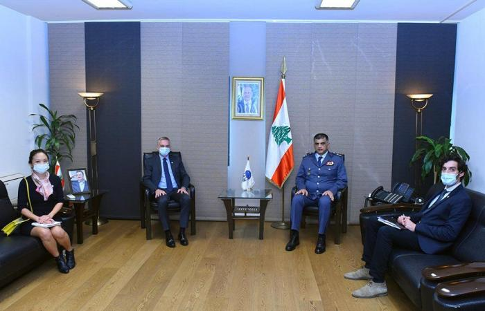 عثمان التقى رئيس بعثة اللجنة الدولية للصليب الأحمر