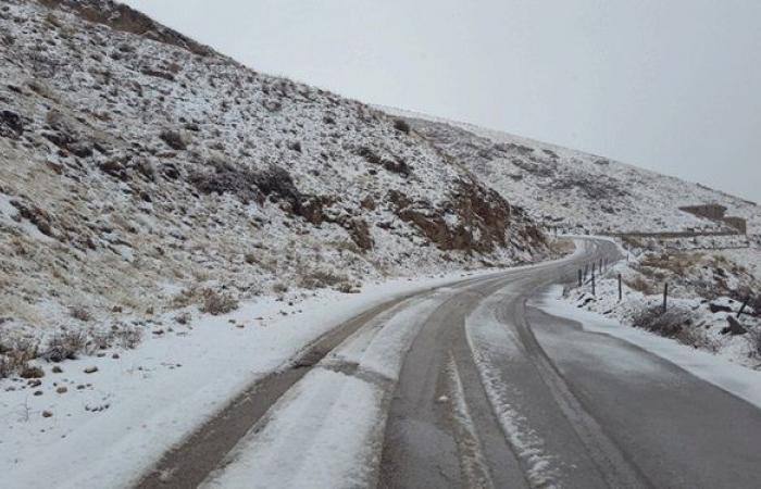 هذه هي الطرقات المقطوعة بسبب تراكم الثلوج