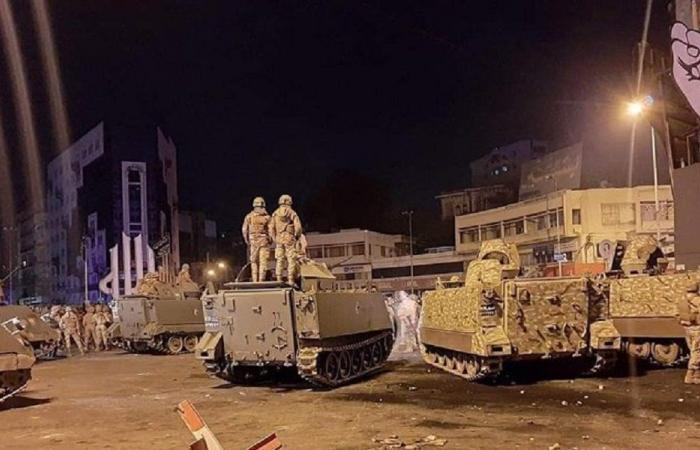 إصابة مراسل الجديد خلال تظاهرات طرابلس