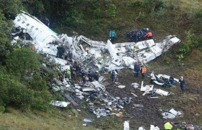 وفاة 4 لاعبين برازيليين في حادث تحطم طائرة