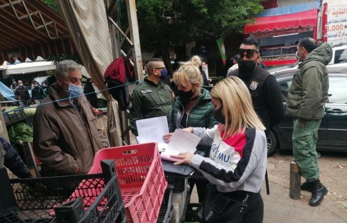 بلدية بيروت: محاضر ضبط بحق تجار لحوم وخضار (صور)