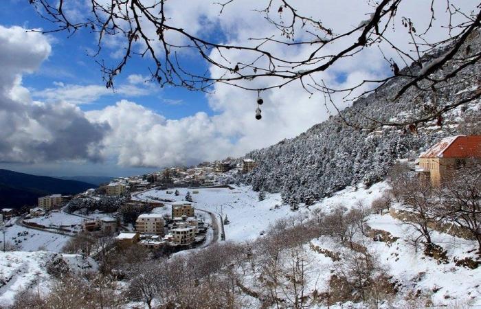 """""""JOYCE"""" الى لبنان الثلثاء… الثلوج على الـ600 متر!"""
