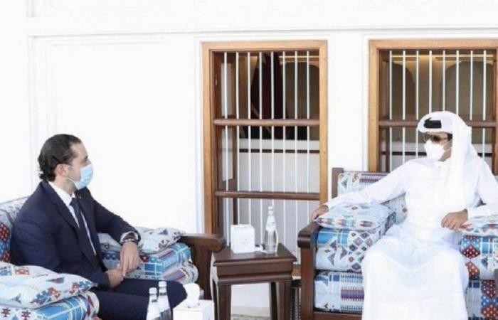 أمير قطر التقى الحريري: للإسراع في تشكيل حكومة جديدة