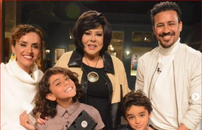 """عائلة أحمد داود وعلا رشدي في الحلقة المقبلة مع """"صاحبة السعادة"""""""