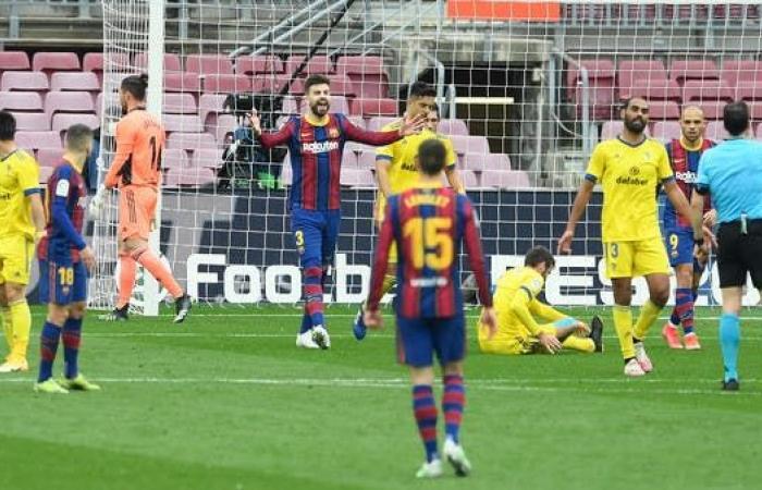 هدف قاتل يحبط برشلونة أمام قادش