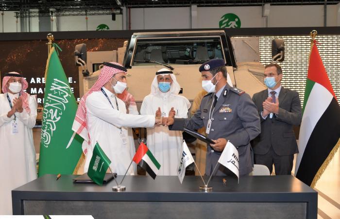 "SAMI و""نمر"" الإماراتية توقعان اتفاقية لنقل إنتاج عربة ""جيس"" للمملكة"
