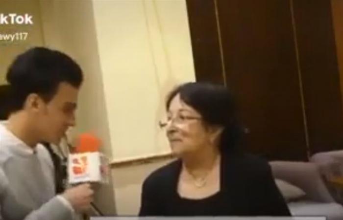سميرة عبد العزيز تعليقا على فيديو إحراج مراسل لها: مش محترف وعيب ميعرفش اسمي