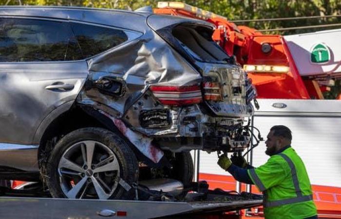تايغر وودز يستعيد وعيه بعد تعرضه لحادث خطير